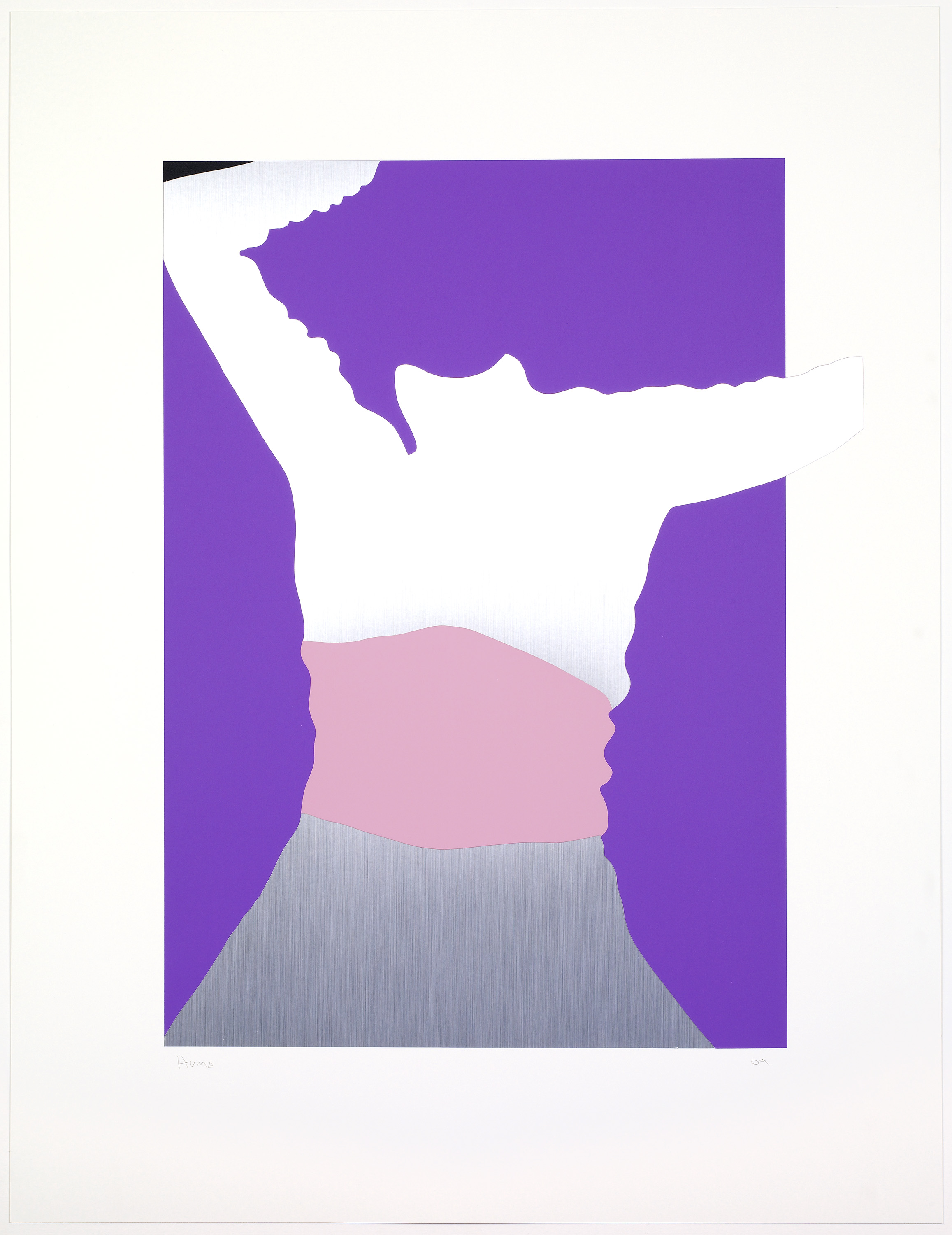 gary hume poster